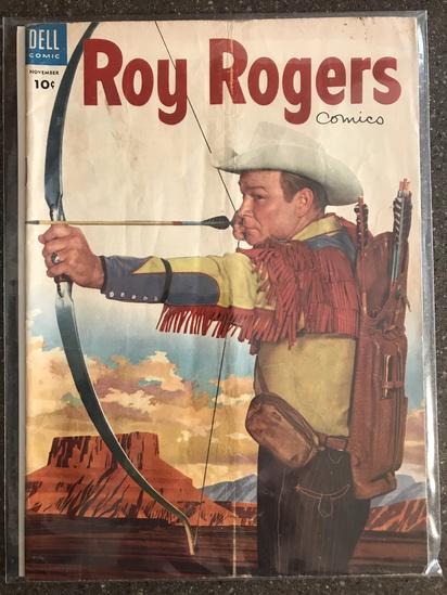Roy Rogers Comics #83 Dell Comics 1954 GOLDEN Age 10 cent