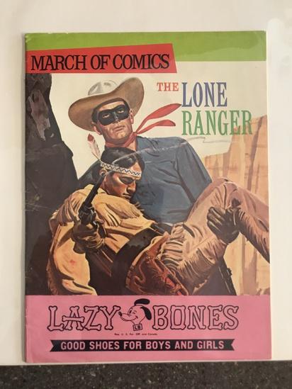 March of Comics #350 KK Western The Lone Ranger 1970 Bronze Age