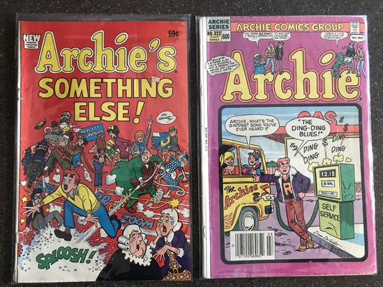 2 Issues Archie #322 & Archie's Something Else Comic Bronze Age Comics