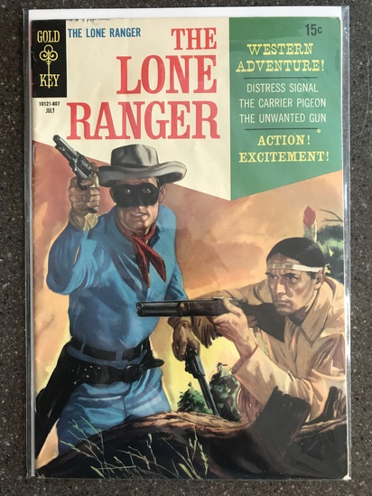 The Lone Ranger Comic #11 Gold Key 1968 SILVER Age 15 cent painted cover