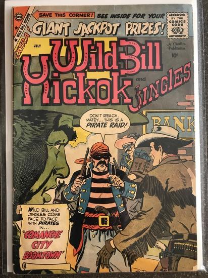 Wild Bill Hickok and Jingles Comic #73 Charlton Comics 1959 SILVER Age 10 cent