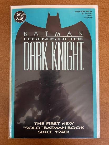 Batman Legends of the Dark Knight Comic #1 DC Comics 1989 Copper Age KEY 1st Issue