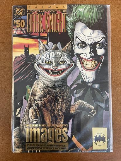 Batman Legends of the Dark Knight Comic #50 DC Comics KEY Cover Art by Brian Bolland Featuring the J