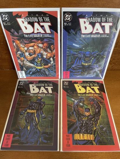 4 Issues Batman Shadow of the Bat The Last Arkham Comic #1-#4 Full Set KEY 1st Issue