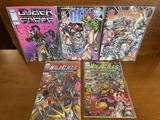 5 Issues Wildcats #3 #4 Stormwatch #11 Gen 13 #3 Cyber Force #8 Image Comics
