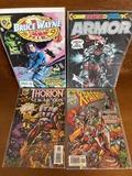 4 Issues Thorion of the New Asgods #1 X Patrol #1 Bruce Wayne Agent of Shield #1 Amalgam Comics Plus