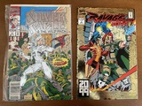 2 Issues Ravage 2099 Comic #1 & Silver Sable & The Wild Pack Comic #1 Marvel KEY 1st Issues
