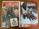 2 Issues Captain America Comic #3 Nomad Comic #1 Marvel KEY 1st Issue