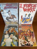 4 Marvel Issues Dark Angel #10 Guardians #4 Force Works #16 Amazing High Adventure Comic #4