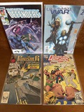 4 Marvel Issues The New Defenders #125 Quasar #41 Punisher War Journal #10 Ultimate War #2