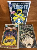 3 KEY Issues The Omega Men Annual #1 Agent Liberty #1 Ragman Cry of the Dead #1 All 1st Issues