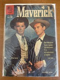 Maverick Comic #12 Dell Comics 1960 Silver Age Comic Photo Cover James Garner