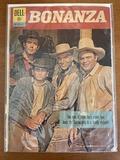 Bonanza Comic #3 Dell Comics 1962 Silver Age Comic Photo Cover TV Series
