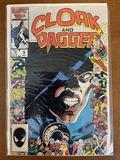 Cloak and Dagger Comic #9 Marvel Comics 1986 Bronze Age KEY 25th Anniversary Cover