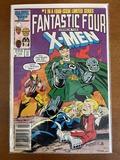 Fantastic Four Versus the XMen Comic #1 Marvel Comics 1987 Copper Age KEY 1st Issue