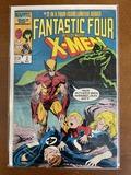 Fantastic Four Versus the XMen Comic #2 Marvel Comics 1987 Copper Age