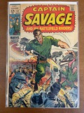 Captain Savage and His Battlefield Raiders Comic #12 Marvel Comics 1969 Silver Age