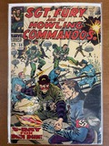 Sgt Fury and His Howling Commandos Comic #59 Marvel Comics 1968 Silver Age