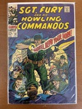 Sgt Fury and His Howling Commandos Comic #56 Marvel Comics 1968 Silver Age