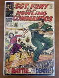 Sgt Fury and His Howling Commandos Comic #55 Marvel Comics 1968 Silver Age