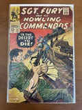 Sgt Fury and His Howling Commandos Comic #37 Marvel Comics 1967 Silver Age