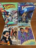 4 Issues Superboy #5 Superman Annual #1 Superman #6 & #126 Superman Man of Steel #1 DC Comics