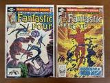 2 Issues Fantastic Four Comic #233 & #235 Marvel Comics 1981 Bronze Age Comics