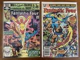 2 Issues Fantastic Four Comic #236 & #239 Marvel Comics 1981 Bronze Age Comics