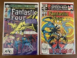 2 Issues Fantastic Four Comic #237 & #241 Marvel Comics 1982 Bronze Age Comics
