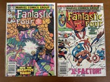 2 Issues Fantastic Four Comic #250 & #251 Marvel Comics 1983 Bronze Age Comics