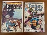 2 Issues Fantastic Four Comic #253 & #255 Marvel Comics 1983 Bronze Age Comics