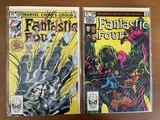2 Issues Fantastic Four Comic #256 & #258 Marvel Comics 1983 Bronze Age Comics