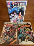3 Issues Superman The Man of Steel #7 Action Comics #546 DC Comics Presents #83 DC Comics