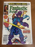 Fantastic Four Comic #243 Marvel Comics 1982 Bronze Age KEY Iconic Cover Art By John Byrne