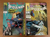 2 Issues Marvel Tales Comic #253 & #255 Marvel Comics Classic Spiderman Ghost Rider