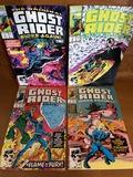 4 Issues Ghost Rider Rides Again Comic #1 #3 #4 & #5 Marvel Comics Origin Retold