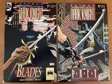 2 Issues Batman Legends of the Dark Knight Comics #15 & #32 DC Comics Prey Blades