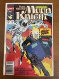 Marc Spector Moon Knight Comic #25 Marvel Comics KEY 1st Team up of Moon Knight & Ghost Rider