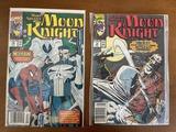 2 Issues Marc Spector Moon Knight Comic #14 & #19 Marvel Comics Disney+ Series Coming Soon