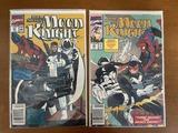 2 Issues Marc Spector Moon Knight Comic #20 & #21 Marvel Comics Disney+ Series Coming Soon