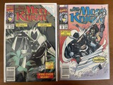 2 Issues Marc Spector Moon Knight Comic #23 & #24 Marvel Comics Disney+ Series Coming Soon
