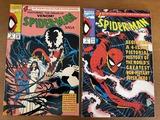 2 Issues Spiderman Saga #1 & #4 Marvel Comics KEY 1st & Last Issues History of Spiderman Pre-1991