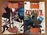 2 Issues Batman Legends of the Dark Knight Comics #33 & #34 DC Comics Blades