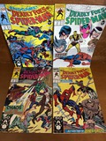 4 Issues The Deadly Foes of Spiderman Comics #1 - #4 Full Series Marvel Comics KEY Issues