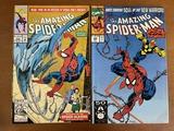 2 Issues The Amazing Spiderman Comic #352 & #368 Marvel Comics Tri Sentinel Spider Slayers