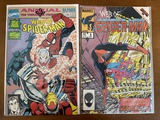 2 Issues Web of Spiderman Annual #7 & Web of Spiderman #6 Marvel Comics Black Panther