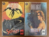 2 Issues Batman Legends of the Dark Knight Comics #37 & #41 DC Comics Mercy Sunset
