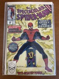 The Spectacular Spiderman Comic #158 Marvel Comics Copper Age KEY Spiderman Gains Cosmic Powers