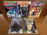 5 Issues Batman Annuals #1 1991 #9 #15 & #16 DC Comics Legend of the Dark Knight Bloodlines and More