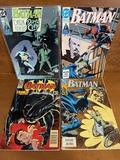 4 Issues Batman Comic #446 #454 #480 & #515 DC Comics Troika Dark Knight Dark City and More